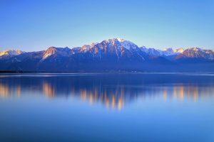 دریاچه شهر ژنو